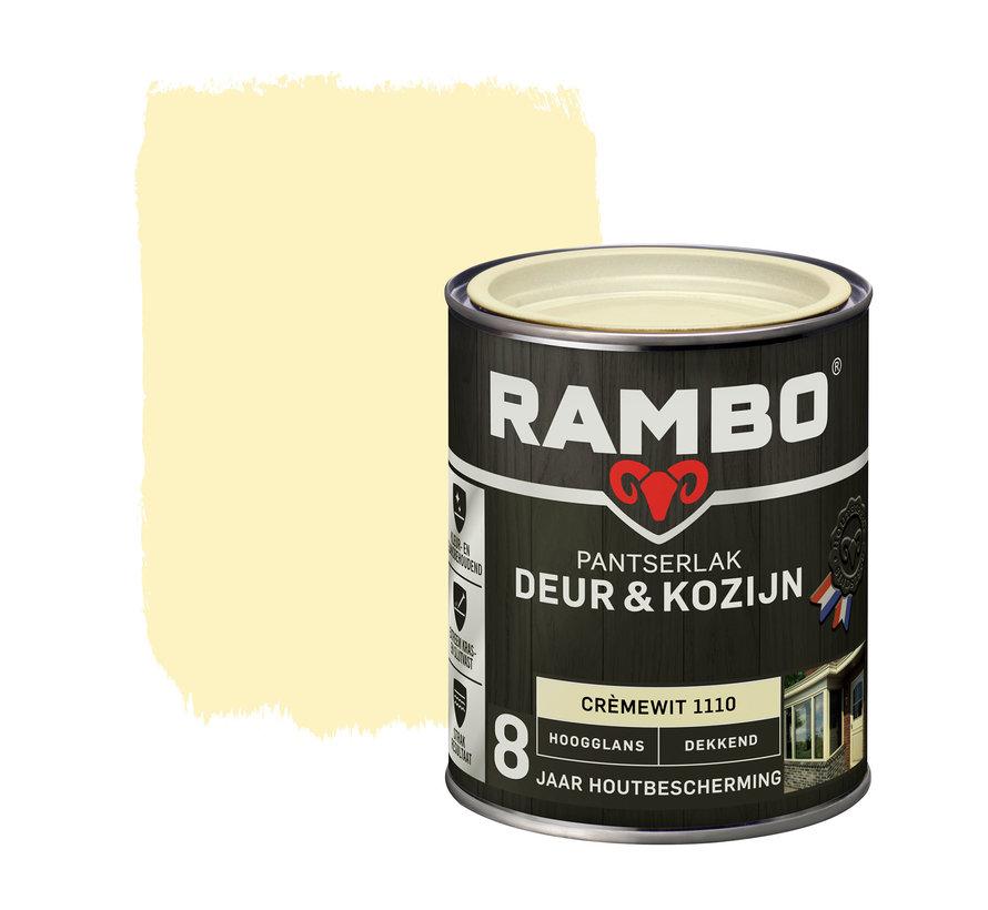 Pantserlak Deur&Kozijn Hoogglans Dekkend Crèmewit 1110