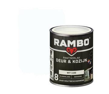 Rambo Pantserlak Deur&Kozijn Zijdeglans Dekkend Wit 1100