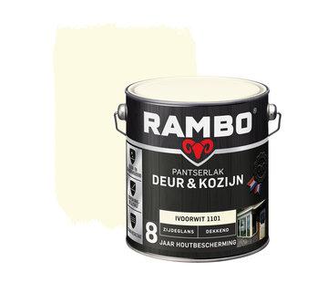 Rambo Pantserlak Deur&Kozijn Zijdeglans Dekkend Ivoorwit 1101