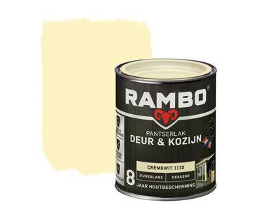 Rambo Pantserlak Deur&Kozijn Zijdeglans Dekkend Crèmewit 1110