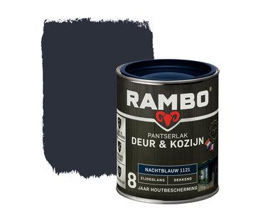 Rambo Pantserlak Deur&Kozijn Zijdeglans Dekkend Nachtblauw 1121