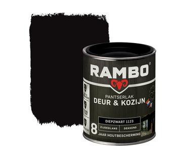 Rambo Pantserlak Deur&Kozijn Zijdeglans Dekkend Diepzwart 1123