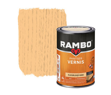 Rambo Pantser Vernis Transparant Mat