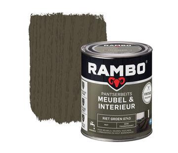 Rambo Pantserbeits Meubel&Interieur Mat Riet Groen 0743