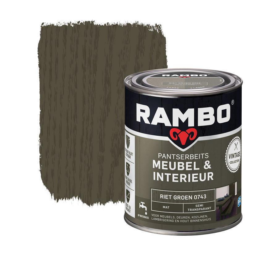 Pantserbeits Meubel&Interieur Mat Riet Groen 0743
