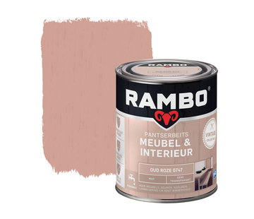 Rambo Pantserbeits Meubel&Interieur Mat Oud Roze 0747