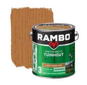 Rambo Pantserbeits Tuinhout Zijdeglans Transparant Lichteiken 1202