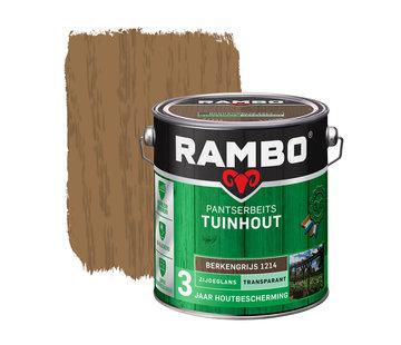 Rambo Pantserbeits Tuinhout Zijdeglans Transparant Berkengrijs 1214