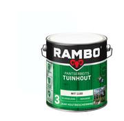 Rambo Pantserbeits Tuinhout Zijdeglans Dekkend Wit 1100
