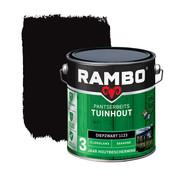 Rambo Pantserbeits Tuinhout Zijdeglans Dekkend Diepzwart 1123