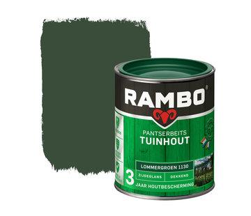Rambo Pantserbeits Tuinhout Zijdeglans Dekkend Lommergroen 1130
