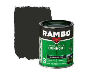 Rambo Pantserbeits Tuinhout Zijdeglans Dekkend Antraciet 1216