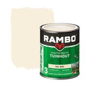 Rambo Pantserbeits Tuinhout Zijdeglans Dekkend Ral 9001