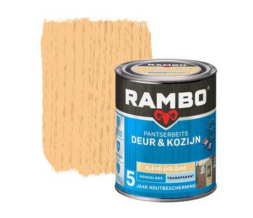 Rambo Pantserbeits Deur&Kozijn Hoogglans Transparant