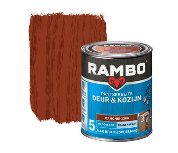 Rambo Pantserbeits Deur&Kozijn Hoogglans Transparant Mahonie 1206