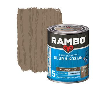 Rambo Pantserbeits Deur&Kozijn Hoogglans Transparant Notenhout 1207