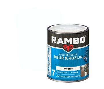 Rambo Pantserbeits Deur&Kozijn Zijdeglans Dekkend Wit 1100