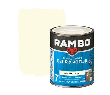 Rambo Pantserbeits Deur&Kozijn Zijdeglans Dekkend Ivoorwit 1101