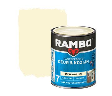 Rambo Pantserbeits Deur&Kozijn Zijdeglans Dekkend Boerenwit 1109