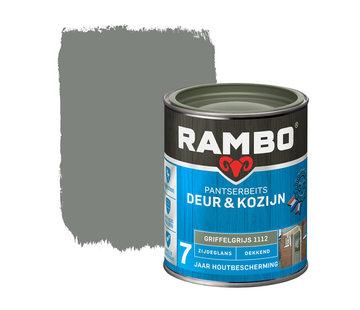 Rambo Pantserbeits Deur&Kozijn Zijdeglans Dekkend Griffelgrijs 1112