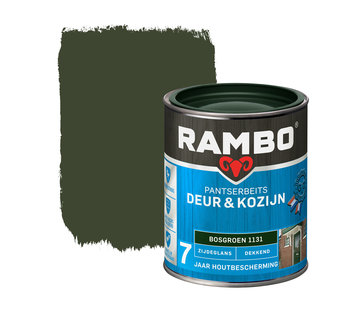 Rambo Pantserbeits Deur&Kozijn Zijdeglans Dekkend Bosgroen 1131