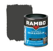 Rambo Pantserbeits Deur&Kozijn Zijdeglans Dekkend Antraciet 1216