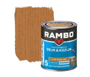 Rambo Pantserbeits Deur&Kozijn Zijdeglans Transparant L.Eiken 1202