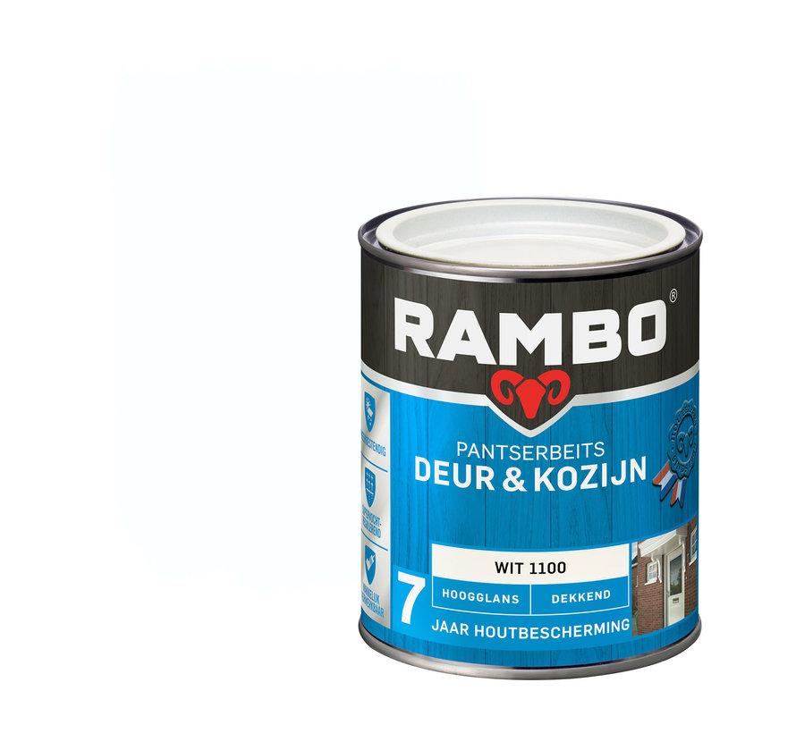 Pantserbeits Deur&Kozijn Hoogglans Dekkend Wit 1100