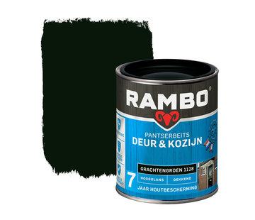 Rambo Pantserbeits Deur&Kozijn Hoogglans Dekkend Grachtengroen 1128