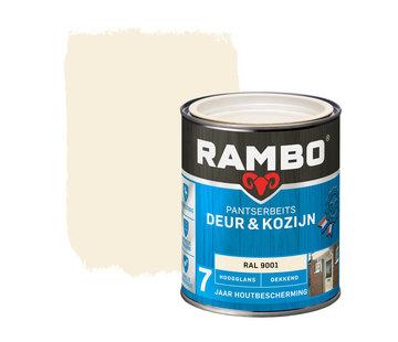 Rambo Pantserbeits Deur&Kozijn Hoogglans Dekkend Ral 9001