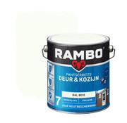 Rambo Pantserbeits Deur&Kozijn Hoogglans Dekkend Ral 9010