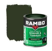 Rambo Pantserbeits Schuur&Tuinhuis Zijdeglans Dekkend Bosgroen 1131