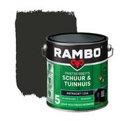 Rambo Pantserbeits Schuur&Tuinhuis Zijdeglans Dekkend Antraciet 1216