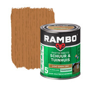 Rambo Pantserbeits Schuur&Tuinhuis Zijdeglans Transp. L.Eiken 1202