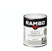 Rambo Pantserbeits Tuin&Steigerhout Zijdeglans Dekkend Puur Wit 1138