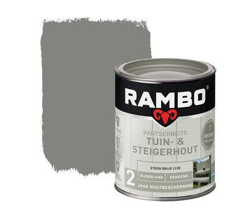 Rambo Pantserbeits Tuin&Steigerhout Zijdeglans Dekkend S.Grijs 1139