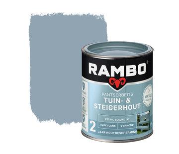 Rambo Pantserbeits Tuin&Steigerhout Zijdeglans Dekkend P.Blauw 1142