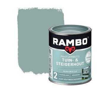 Rambo Pantserbeits Tuin&Steigerhout Zijdeglans Dekkend W.Grijs 1143