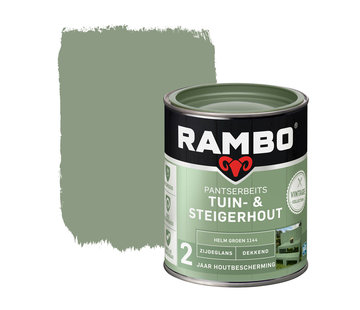 Rambo Pantserbeits Tuin&Steigerhout Zijdeglans Dekkend H.Groen 1144