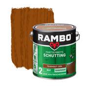 Rambo Pantserbeits Schutting Mat Transparant Teakhout 1204