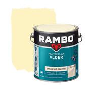 Rambo Pantserlak Vloer Dekkend Zijdeglans RAL9001