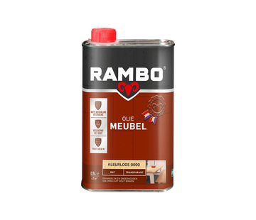 Rambo Meubelolie Transparant Mat