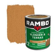 Rambo Pantserbeits Vlonder&Terras Mat Transp. Teakhout 1204