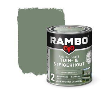 Rambo Pantserbeits Tuin&Steigerhout Zijdeglans Dekkend F.Groen 1147