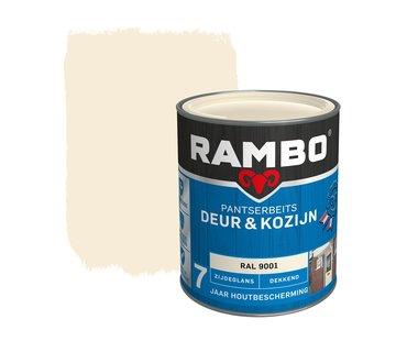 Rambo Pantserbeits Deur&Kozijn Zijdeglans Dekkend Ral 9001