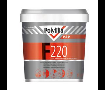 Polyfilla F220 Gebruiksklaar Semi LG Vulmiddel
