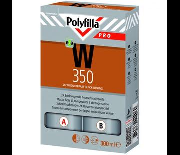 Polyfilla W350 2K Sneldrogende Houtreparatie