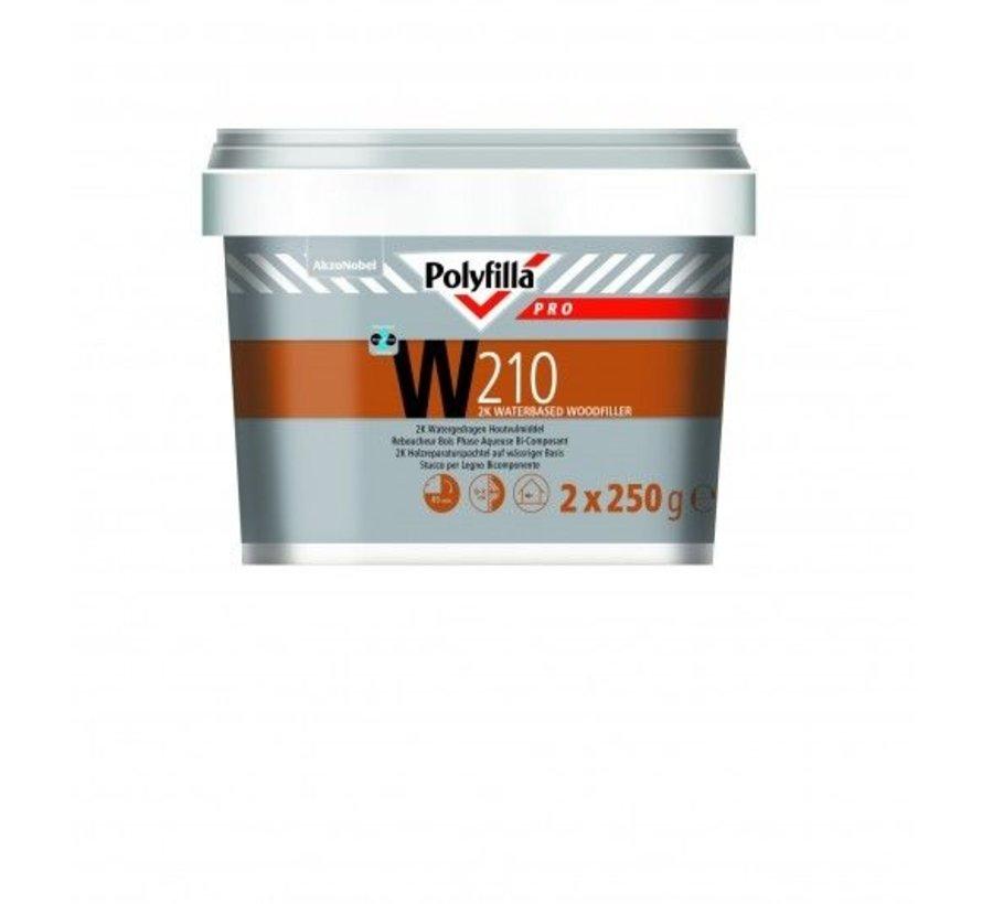 W210 2K Watergedragen Houtvulmiddel