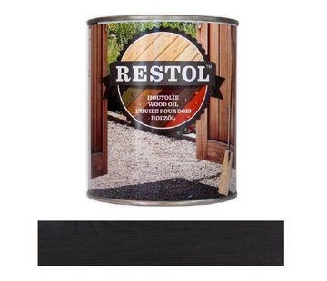 Restol Mat Ebbenzwart Watergedragen