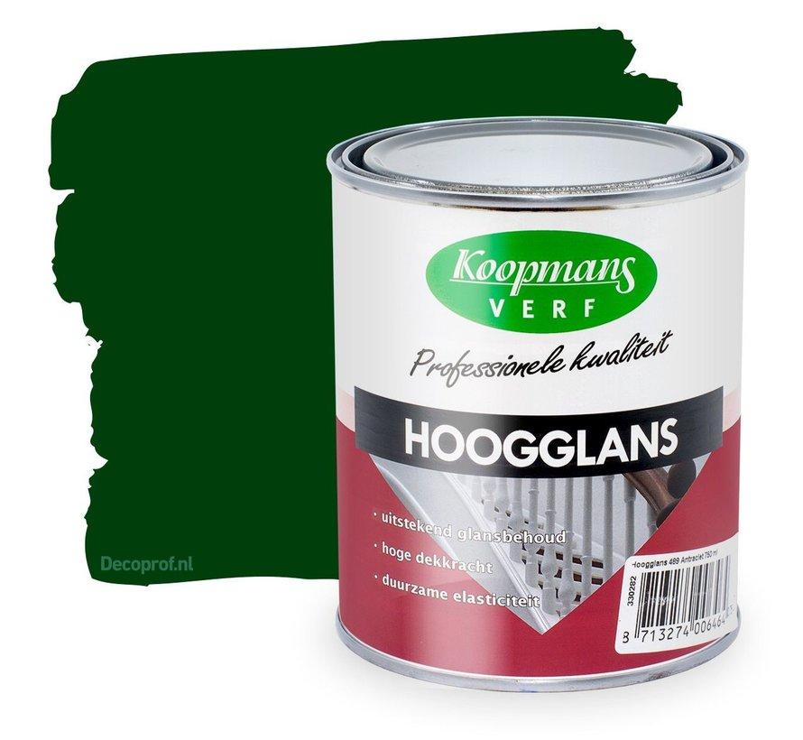 Hoogglans 310 Donkergroen